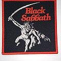 Black Sabbath - Patch - Black Sabbath - Paranoid - woven patch