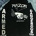 Hooded Top - Razor Armed and Dangerous Sweater
