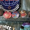 Battle Jacket - Death Button Collage