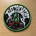 Electric Wizard Patch Green Border