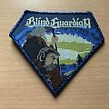 Blind Guardian Patch Blue Glitter Border