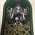 Atlantean Kodex - Patch - Atlantean Kodex Backpatch