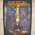 Sepultura Chaos A.D. Back Patch 1994