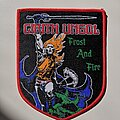 Cirith Ungol - Patch - Cirith Ungol - Frost and Fire woven patch