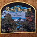 Crypt Sermon - Patch - Crypt Sermon - Out of the Garden woven patch