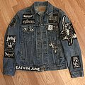 Black Metal Denim Jacket