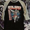 Metalucifer - TShirt or Longsleeve - Metalucifer - Heavy Metal Drill Official Baseball Tshirt