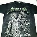 """Metallica '...And Justice For All"""" Blackened Shirt"""