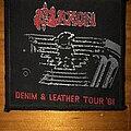 Saxon - Patch - Saxon - Denim & Leather Tour '81 Woven Patch