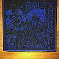 Bolt Thrower - Patch - Bolt Thrower - In Battle There Is No Law! Woven Patch