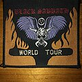 Black Sabbath - Patch - Black Sabbath - World Tour Woven Patch