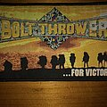 Bolt Thrower - Patch - Bolt Thrower - ...for Victory Woven Patch