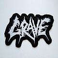 Grave logo patch