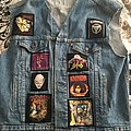 European thrash battle vest