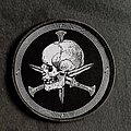 Iron bonehead skull patch