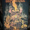 Sepultura - Arise backpatch, Blue Grape 1991