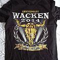 Wacken 2014 - 25th Anniversary TShirt or Longsleeve