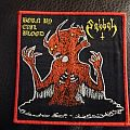 Sabbat - Born By Evil Blood Bootleg Woven Patch