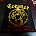 Coroner  Embroidered patch