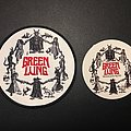 GREEN LUNG - Woodland Rites patch and sticker
