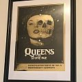 Queens of the Stone Age Oberhausen 2017 Concert Poster | LIMITED FOIL PRINT