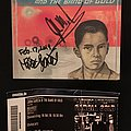 John Garcia And The Band Of Gold signed CD Tape / Vinyl / CD / Recording etc