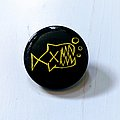 Flipper button (black) Pin / Badge