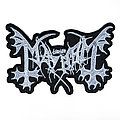 The True Mayhem Shaped Embroidered Logo Patch