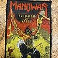 Manowar - Patch - Manowar Triumph of Steel Patch