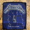 Metallica - Patch - Metallica ride the Lightning Patch