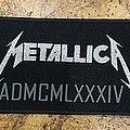 Metallica - Patch - Metallica Jump in the Fire Stripe Patch