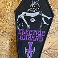 Electric Wizard - Patch - Electric Wizard Coffin Patch black border