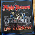 Night Demon - Patch - Night Demon Live Darkness Backpatch
