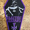 Electric Wizard - Patch - Electric Wizard Coffin Patch purple border