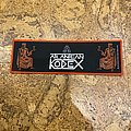 Atlantean Kodex - Patch - Atlantean Kodex Stripe Patch red
