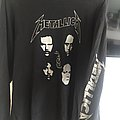 Metallica black album faces longsleeve