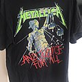 Metallica - TShirt or Longsleeve - Metallica damage justice tour 88