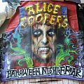 Alice Cooper airbrushed leather vest