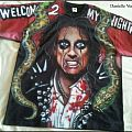 Alice Cooper airbrushed t-shirt