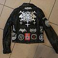 Satanic  Warmaster - Battle Jacket - leather  jacket