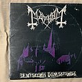 Mayhem - Tape / Vinyl / CD / Recording etc - Mayhem De Mysteriis Dom Sathanas 1st press