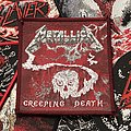 Metallica - Creeping Death Red Border Patch