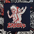 Exodus - Bonded By Blood Blue Border Patch
