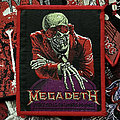 Megadeth - Patch - Megadeth - Peace Sells, But Who's Buying? Red Border Patch