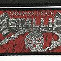 Metallica - Creeping Death Strip Patch