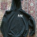 Side by side Hooded Top