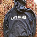 Have Heart. Boston Straight Edge Hooded Top