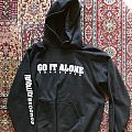 Go it alone Hooded Top