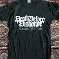 Death Before Dishonor. Count me in TShirt or Longsleeve
