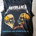 Metallica - TShirt or Longsleeve - Cool 92 tallica bootleg tour shirt
